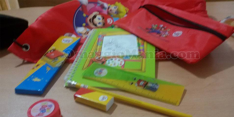 kit scuola Super Mario & Friends McDonald's di Lisa