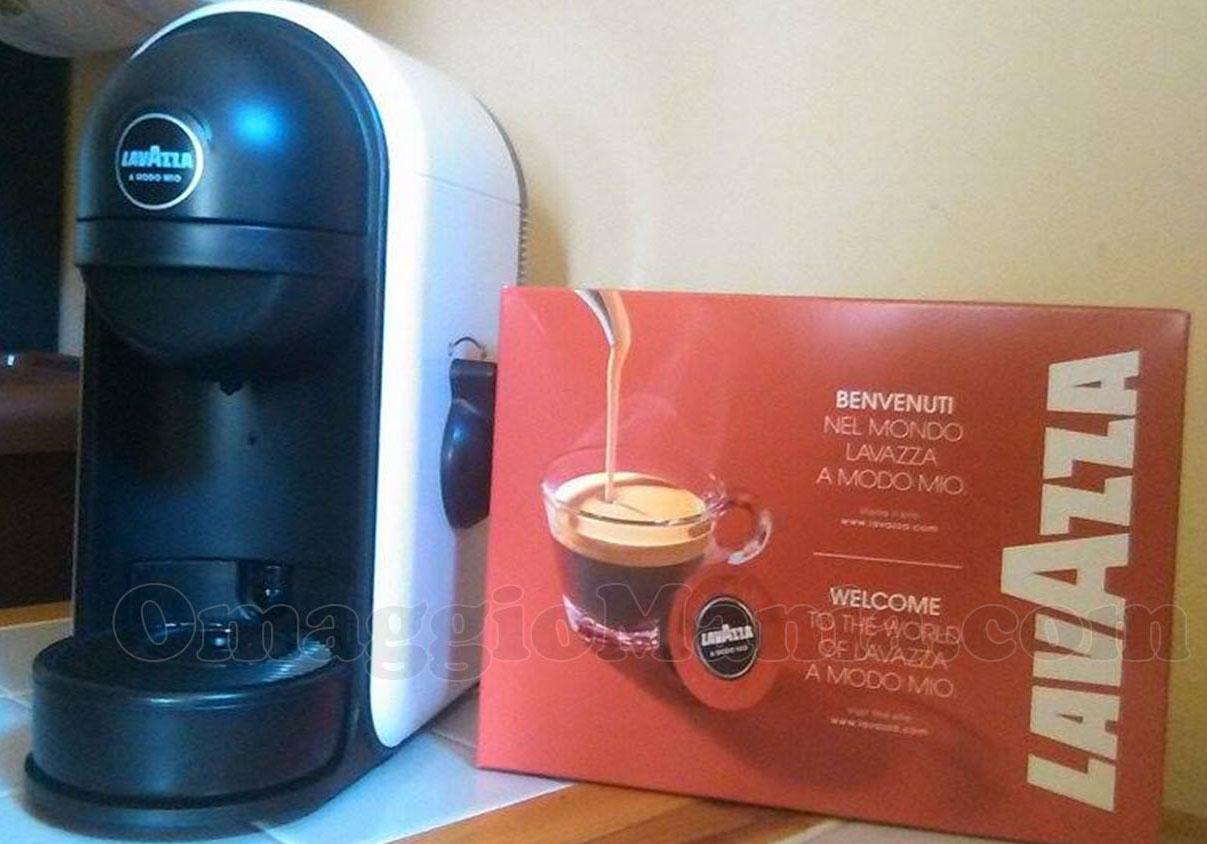 macchina caffè Lavazza con cialde di Nuny