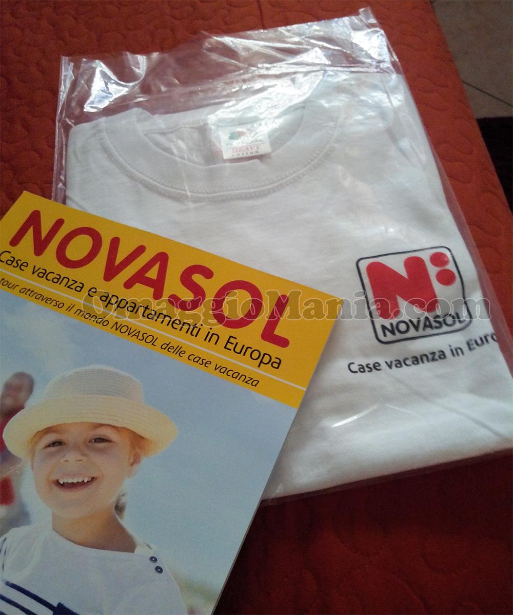 maglietta Novasol omaggio di Daniela