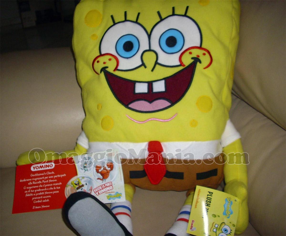 maxi peluche Spongebob di Nadia