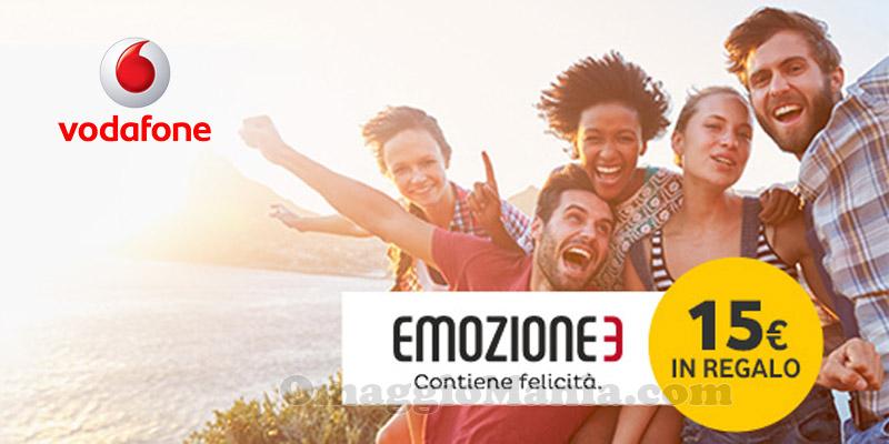 premio Vodafone settembre 2016 Emozione3