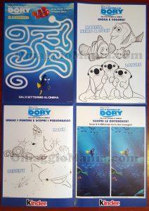 retro poster Alla ricerca di Dory