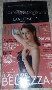 rivista Grazia con mascara Lancome Hypnose Drama