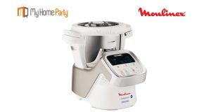robot Moulinex i-Companion con My Home Party