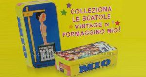 scatole vintage di Formaggino Mio