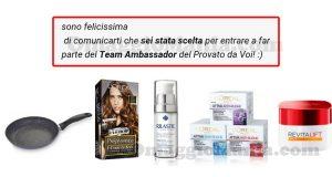 selezione team ambassador AlFemminile Provato da Voi