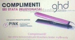 selezione test piastra capelli GHD di Simona