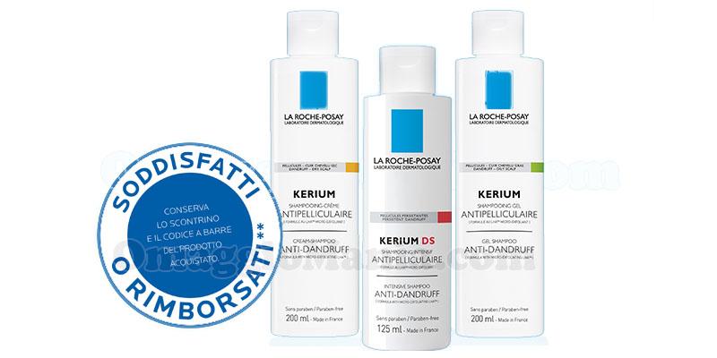 shampoo La Roche-Posay Kerium soddisfatti o rimborsati
