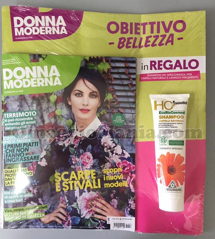"""Shampoo Specchiasol """"Capelli Naturali"""" con Donna Moderna ..."""