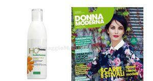 shampoo capelli naturali Specchiasol omaggio con Donna Moderna
