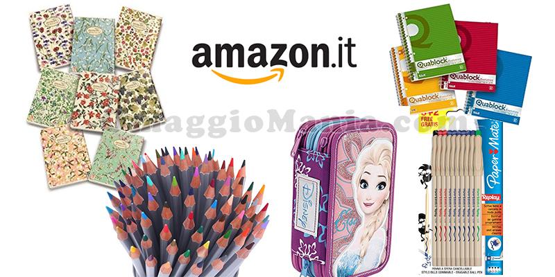 speciale ritorno a scuola 2016 Amazon