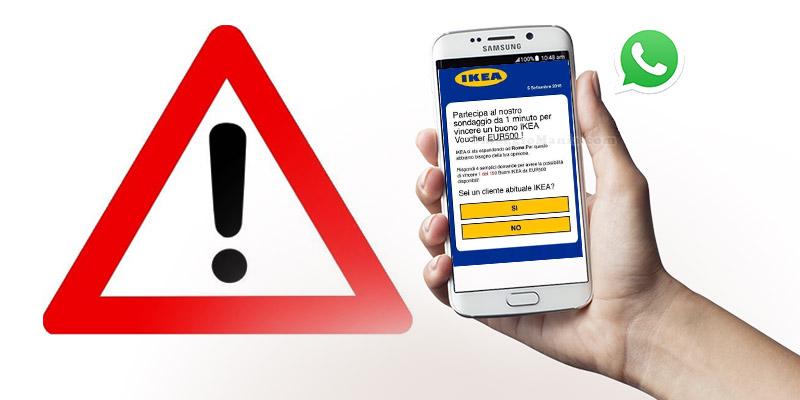 truffa buono IKEA 500 euro