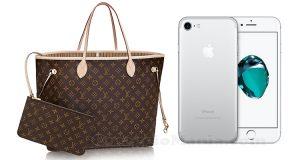 vinci Louis Vuitton o Iphone 7 con Saldi Privati