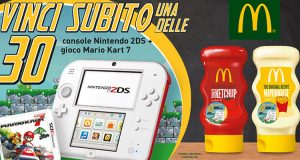 vinci Nintendo 2DS con Develey e McDonald's
