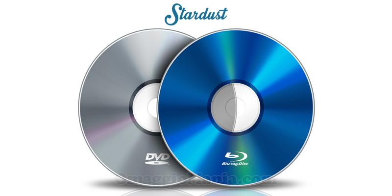 vinci DVD o Blu-ray con Stardust e Univideo