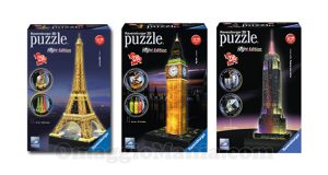 vinci puzzle Ravensburger 3D Night Edition