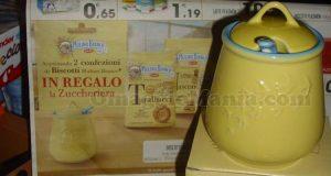 zuccheriera Mulino Bianco omaggio 2016