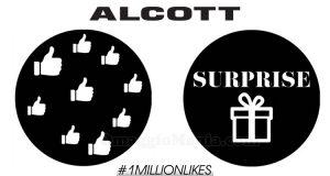 Alcott #1MillionLikes