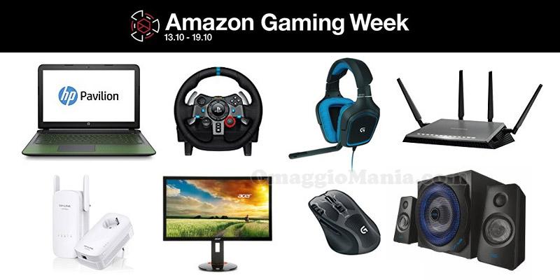 Amazon Gaming Week ottobre 2016
