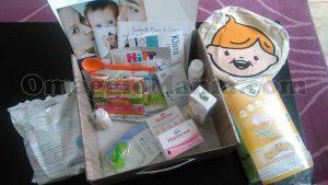 """baby bag """"Benvenuto Baby"""""""