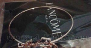 Bracciale Lancôme omaggio di Grazia