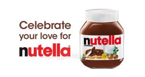 Celebrate your love for Nutella