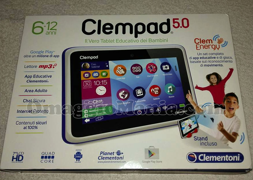 Clempad 5.0 Clementoni di Anna