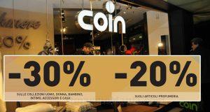 Coin Family & Friends ottobre 2016
