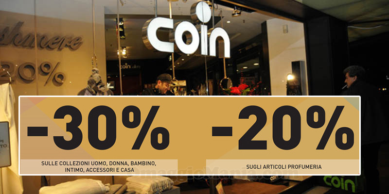 Coin Family & Friends ottobre 2016