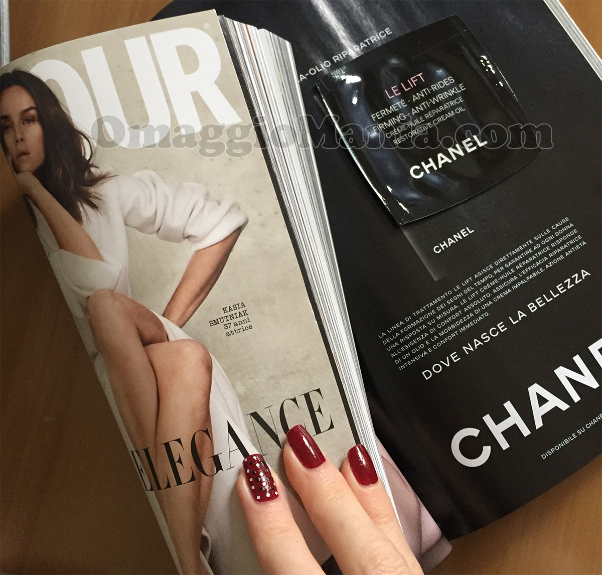 Glamour 293 e crema Le Lift Chanel di Turchina17