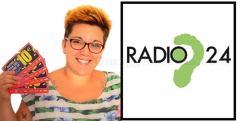 Lady Coupon intervista a Radio24