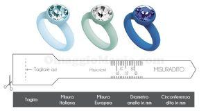 Misuradito e tabella misure anelli OPS! Objects