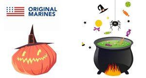 Original Marines dolcetti e gadget Halloween 2016