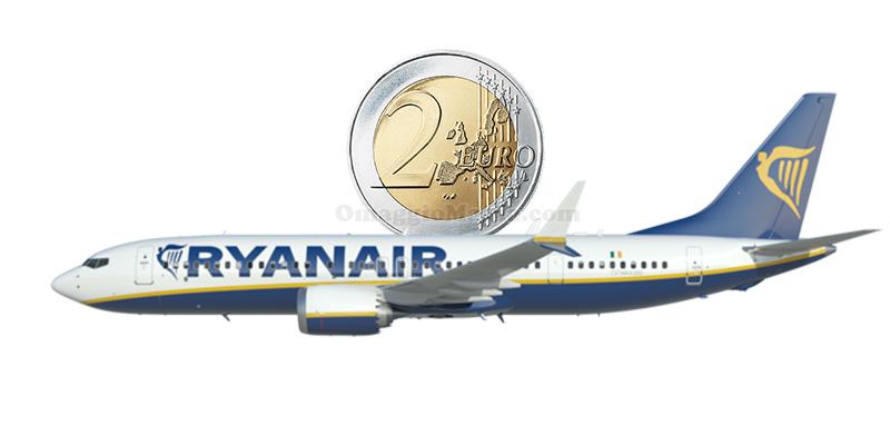 Ryanair 100.000 posti 2 euro