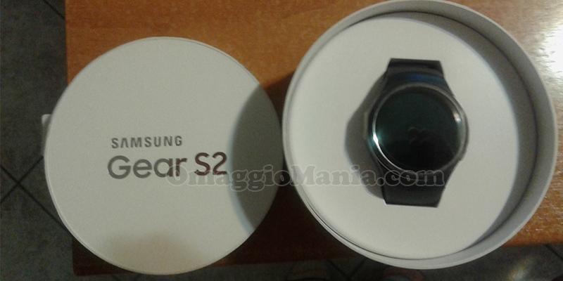 Samsung Gear S2 vinto da Valentina