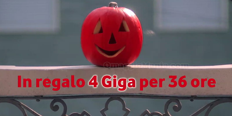 Vodafone regalo Halloween 2016