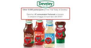 aggiornamento campioni omaggio Develey
