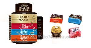 assaggio gratuito Ferrero distributore