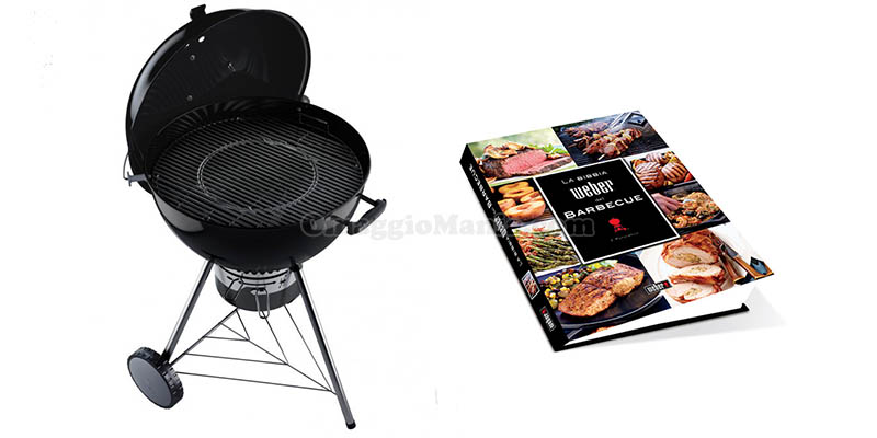 barbecue Weber e libro bibbia del barbecue