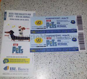 biglietti Pets di Eleonora