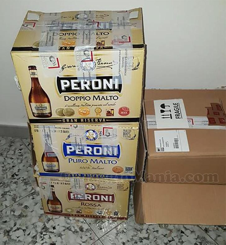 birra Peroni gratis di Lady Coupon