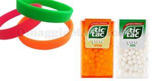 braccialetti Tic Tac omaggio