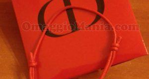 braccialetto Rouge Dior di Grazia