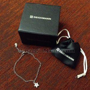 braccialetto con cristalli Swarovski vinto da Miriana con Deichmann