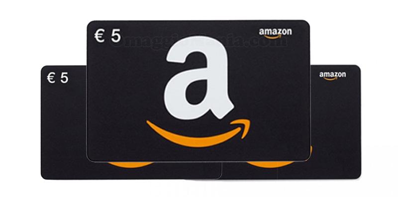 buoni Amazon valore 5 euro
