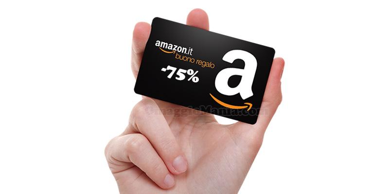 buono sconto Amazon fino a -75%