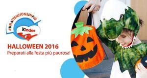 buono sconto Halloween 2016 Kinder UnAttenzioneInPiù