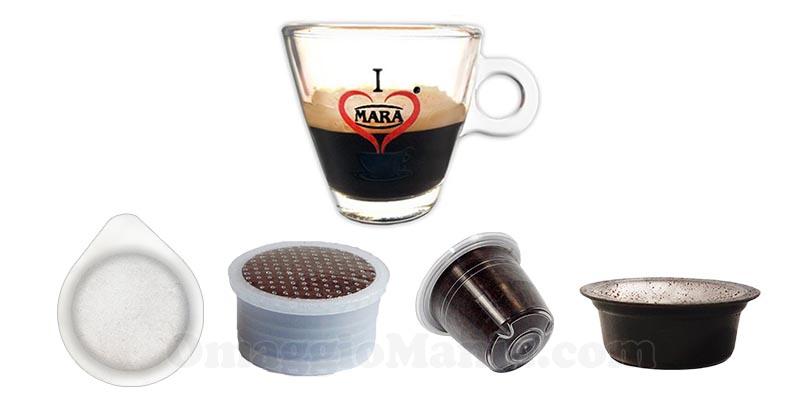 campioni omaggio I Love Mara Caffè cialde capsule