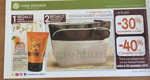 cartolina Yves Rocher crema idratante mani e trousse XL di Turchina17