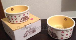 ciotoline in ceramica Mulino Bianco di Giulia